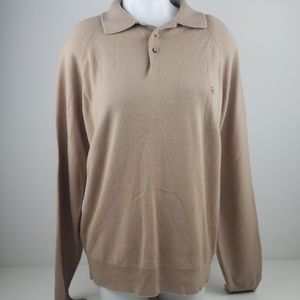 Vintage Christian Dior Monsieur collared sweater
